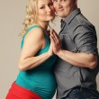 Foto de Stock  : Pregnant womwith her husband