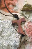 タウ fraciscan 十字架クロス — ストック写真
