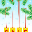 Stock Vector: Winter sale