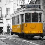 Lisbon tram — Stock Photo #19751219