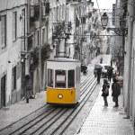Lisbon tram — Stock Photo #19751231