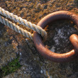 Pier mooring ring — Stock Photo #37861443