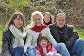 Familie — Zdjęcie stockowe
