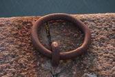 Pier mooring ring — Стоковое фото