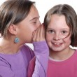 Stock Photo: Complicity between sisters