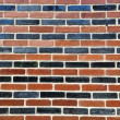 Stock Photo: Solid wall made of brick