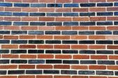Solid wall made of brick — Stock Photo