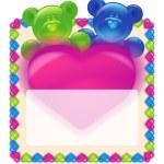 Greeting Card Valentine's Day — Stock Photo #4659247