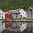Nordic Fishing Houses - Stock Photo