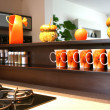 Stock Photo: Kitchen luxury home