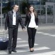 Stock Photo: Couple at the airport