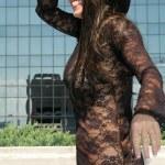 Sheer dress — Stock Photo