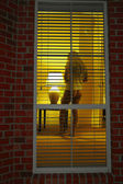 Peeping tom — Stock Photo