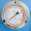 Seismic electric contact pressure gauge — Stock Photo #17361363