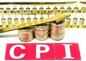Consumer price index concept — Stock Photo