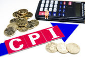 Consumer price index concept — Stock Photo