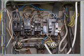 Circuit breaker panel — Stock Photo