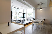 Modern cafe or restaurant — Stock Photo