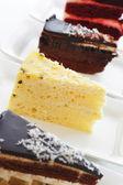 Verschillende soorten gebak — Stockfoto