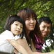 Asian family — Stock Photo #3558530