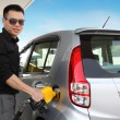 Stock Photo: Mpumping gas