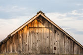 The old barn roof — Stock Photo