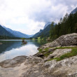 Views of the Hintersee — Stock Photo