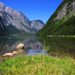 View from the Koenigssee towards the alps — Stock Photo