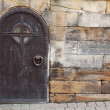 Old Metal Door — Stock fotografie