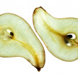 Sliced Pear — Stock fotografie