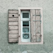 Old Windows and Shutters - 图库照片