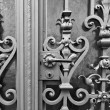 Old Metal Doors — Stock Photo