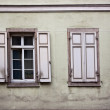 Old Windows and Shutters — Stockfoto