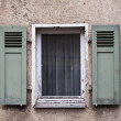 Old Windows and Shutters — Zdjęcie stockowe