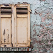 Old Windows and Shutters - Stock Photo