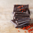 Stack of Chocolate — Stock Photo