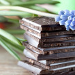 Stack of Chocolate — Stockfoto