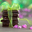 Stack of Chocolate — Foto Stock