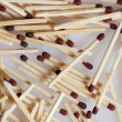 Pile of Matches - Stock Photo