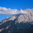 Peak of the Watzmann with cloud — Stock Photo