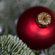 Christmas bauble Advent decoration — Stok fotoğraf
