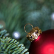 Christmas bauble Advent decoration — Stock Photo