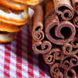 Orange and Cinnamon — Foto Stock