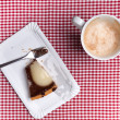 Coffee cup and Cake - Stock Photo