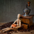 Coffee Still Life - Stock Photo