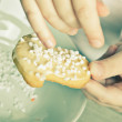 Making Christmas Cookies — ストック写真