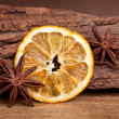 Orange and Anise — Stock Photo