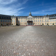 Palace at Karlsruhe Germany - Stock Photo