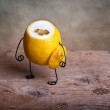 Headless lemon — Stock Photo
