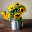 Royalty-Free Stock Photo: Sunflowers Still Life